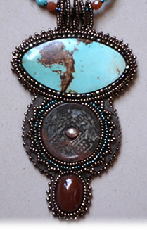 Gail Farcello, turquoise jewelry